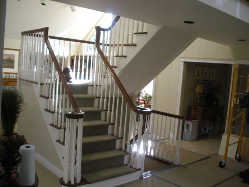 Stairs and Railings Redesign